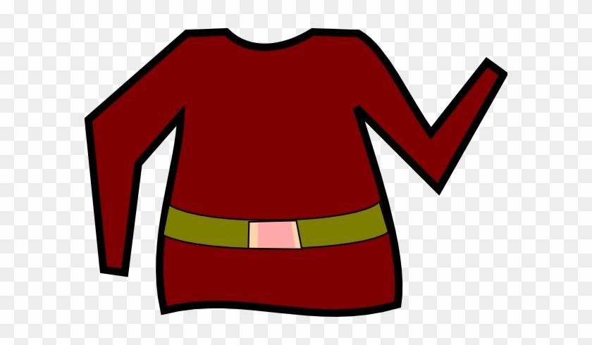 Elf Shirt Clipart #15097