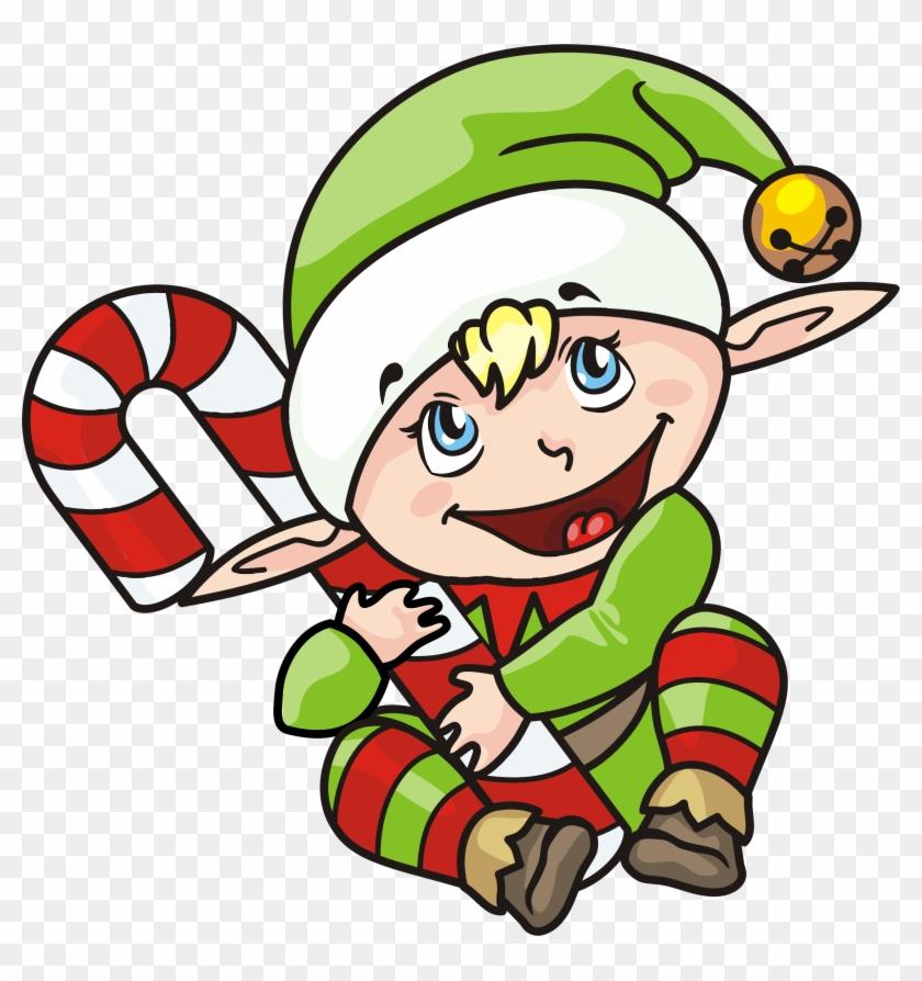 Big Image - Christmas Elf #15213