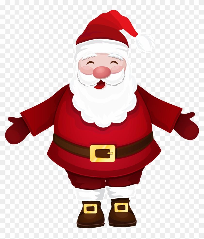 Santa Claus Png Clipart - Santa Claus Clipart Png #15310