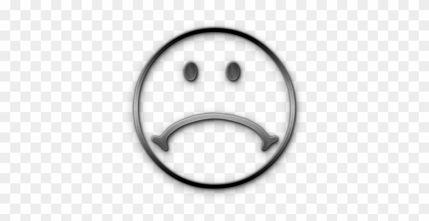Free Sad Face Clip Art - Black And White Sad Face Clip Art #15311