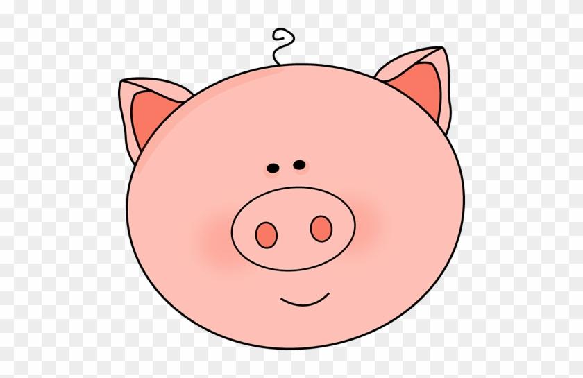 Pig Face Clip Art Image - Pig Face Clipart #15357