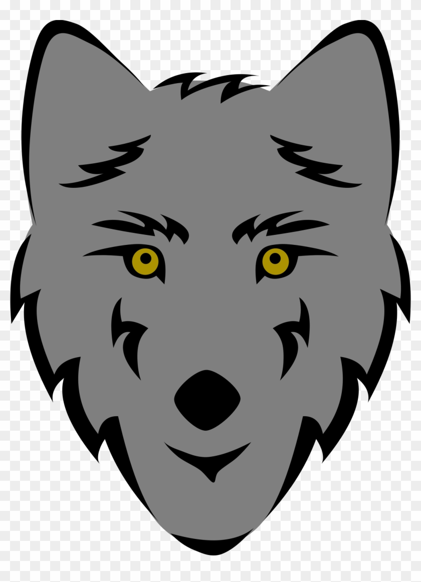 Wolf Clipart Wolf Head Drawing Simple Free Transparent Png