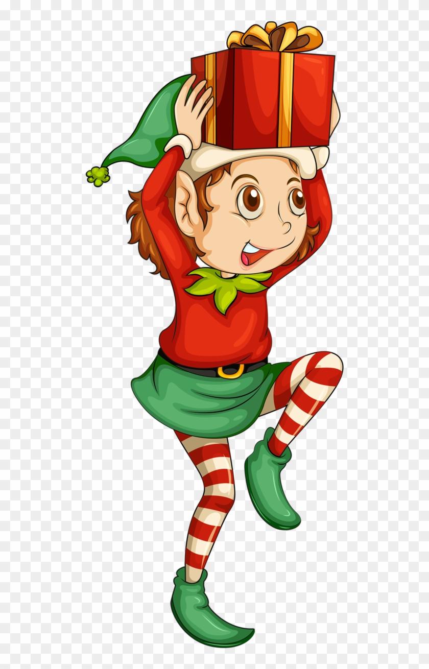 Christmas Elf Boot Clip Art - Christmas Elf Png #15390