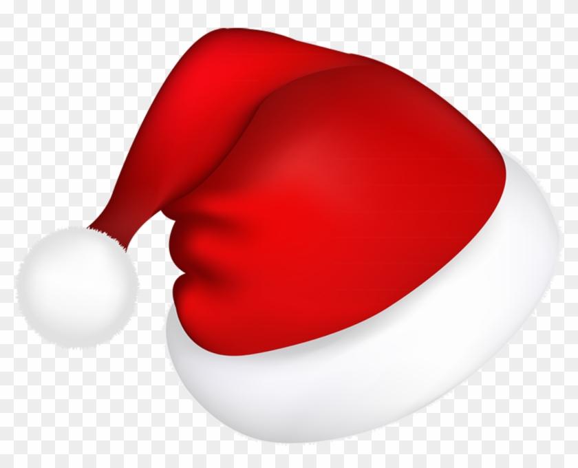 Large Red Santa Hat Png Picture - Santa Hat Vector Png #15414