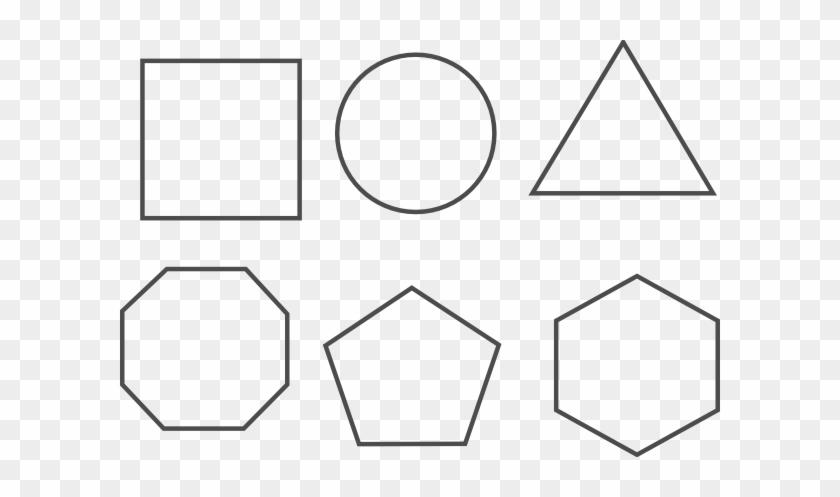 Cool Idea Shapes Clipart Clip Art At Clker Com Vector - Diagram #15424