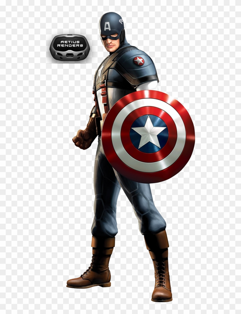 Captain America Clip Art - All Captain America Suits #15464