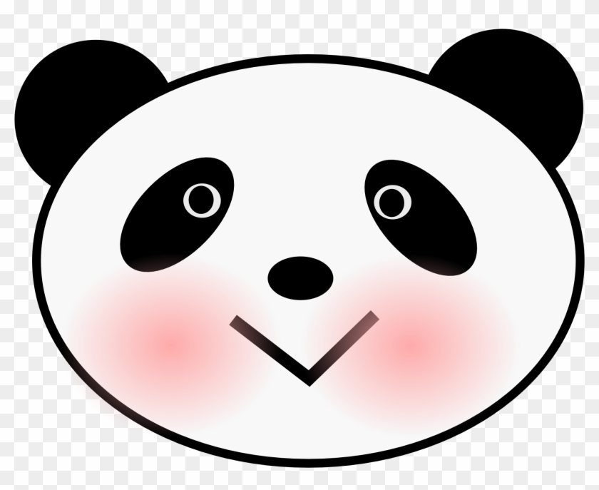 Koala Bear Face Clip Art - Panda Face Clip Art #15495