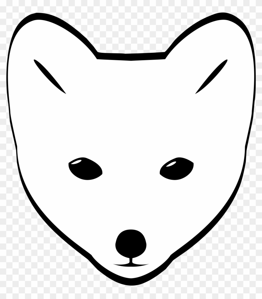 Draw A Arctic Fox Face - Free Transparent PNG Clipart ...