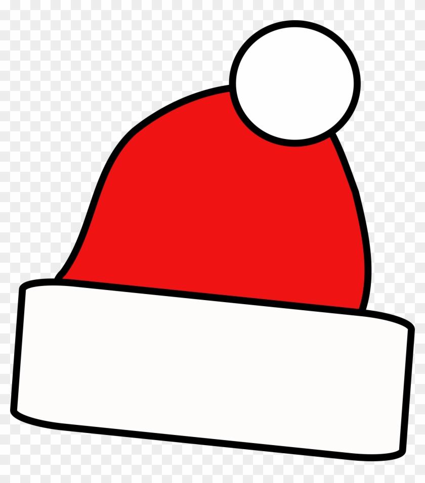 Cap Clip Art For Christmas - Santa Cap Clip Art #15528