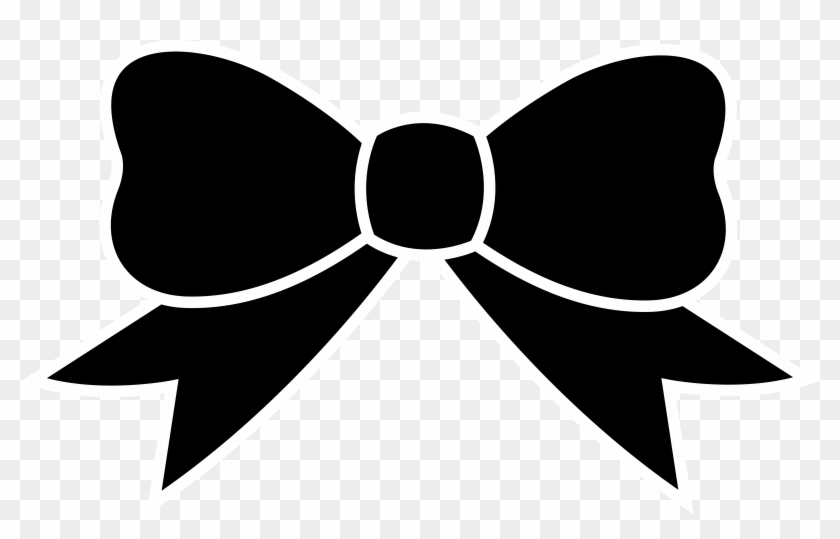 Free Clipart Images - Bow Clipart Black And White #15546