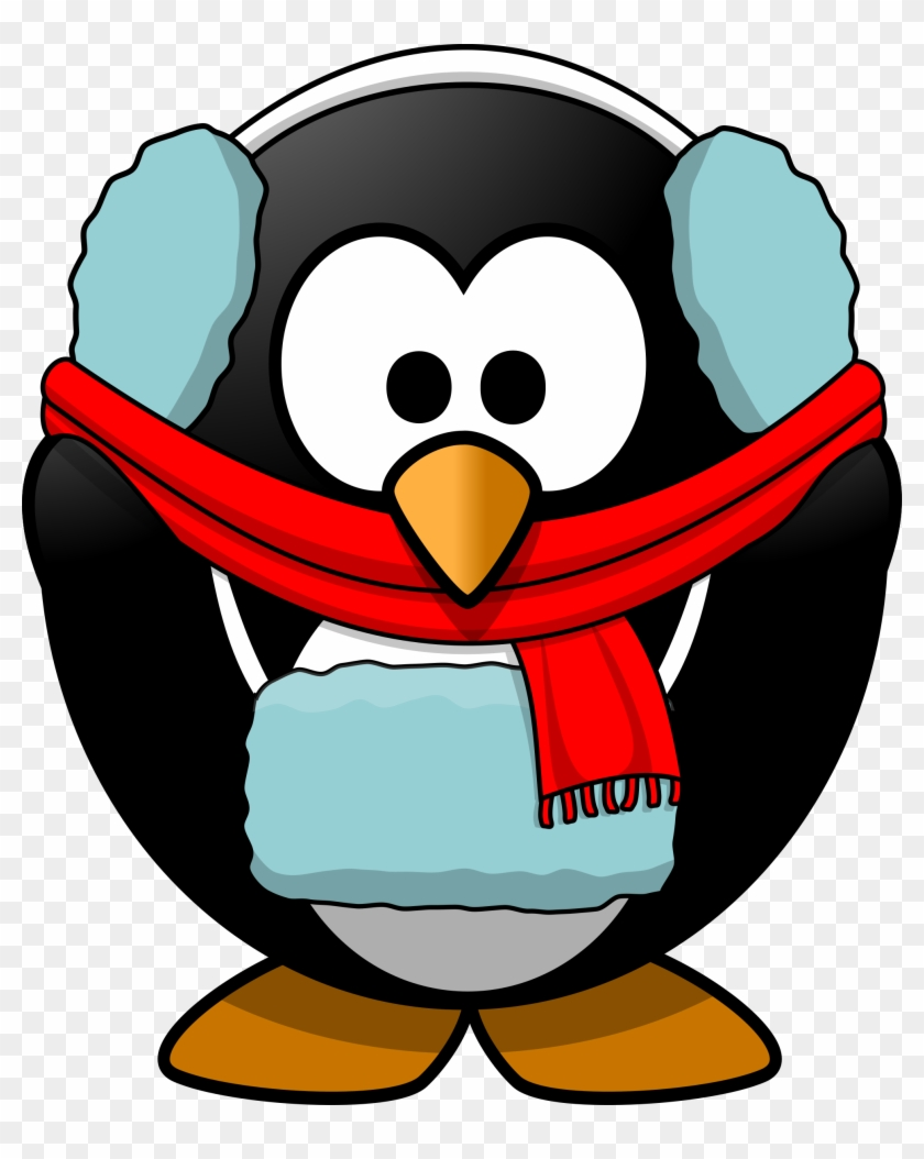 Winter Penguin Clipart #15559
