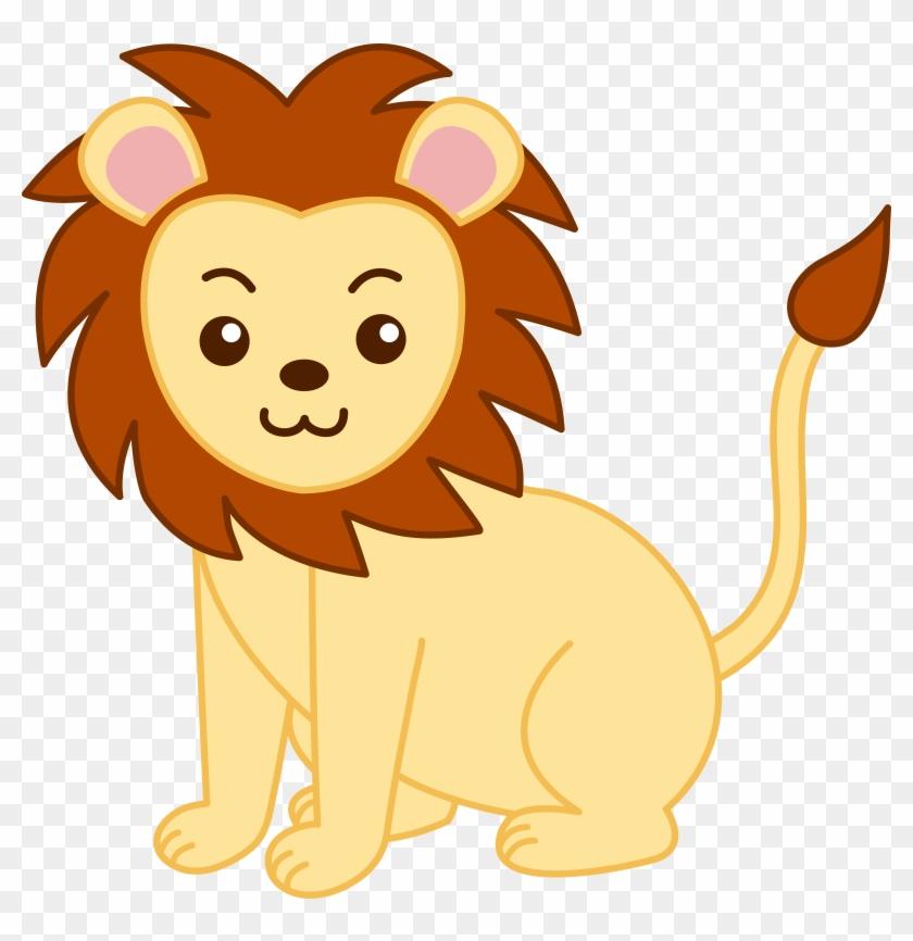 Baby Lion Clipart - Lion Clipart #15595