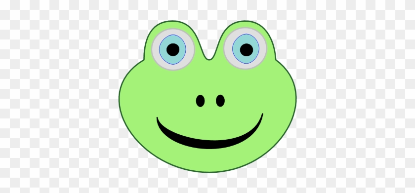 Frog Face Clipart #15575