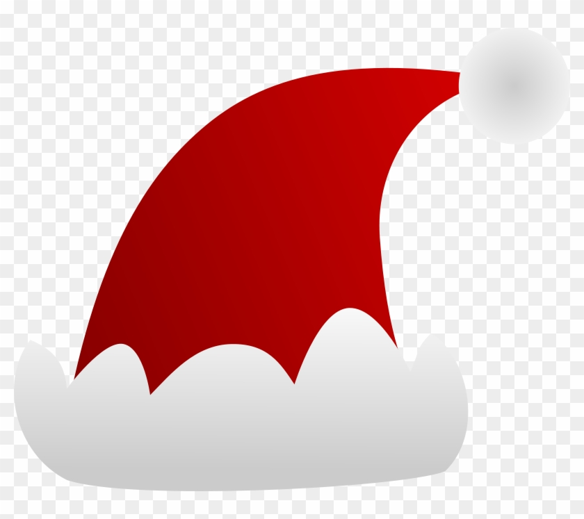 Elf Clipart Holiday Hat - Cap Of Santa Claus Vector #15607
