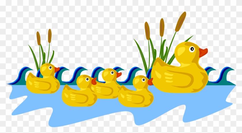 Big Image - 5 Little Ducks Clipart #15609