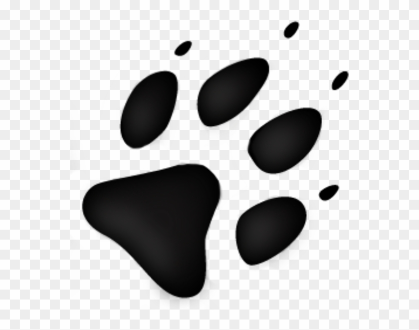 Wolf Track Logo With Animal Footprint Free Transparent Png Clipart Images Download