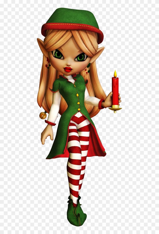 Christmas Elfchristmas Clipartchristmas - Creepy Cartoon Christmas Elves #15644