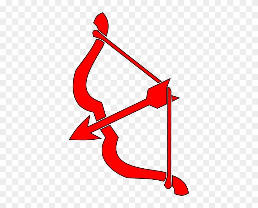Cupid Bow And Arrow Clip Art #15663