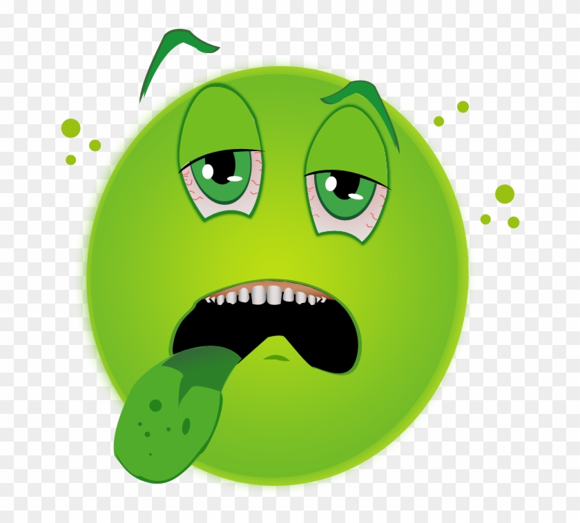 sick face clip art 169051 green sick face emoji free