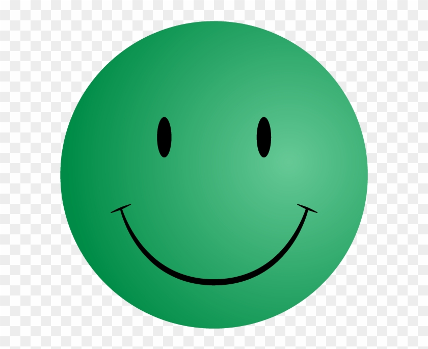 Pin Free Smiley Face Clip Art - Green Smiley Face Png #15686