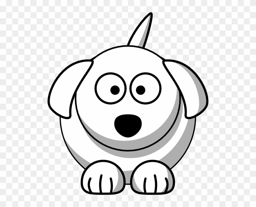 Dog Face Clipart Black And White Dog Cartoon Free Transparent Png Clipart Images Download