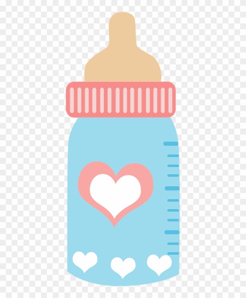 Bebê - Bottle Baby Clip Art #15733