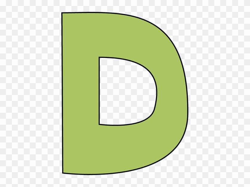 D Clipart - Letter D Clipart #15756