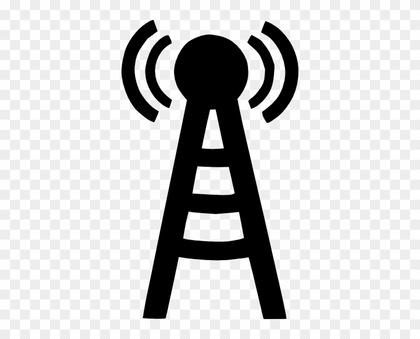 Cell Tower Clipart #15765