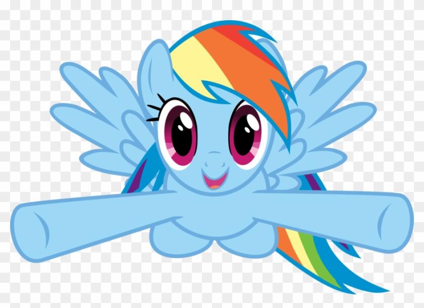 Clipart Of Rainbow Dash - My Little Pony Rainbow Dash Birthday #15858