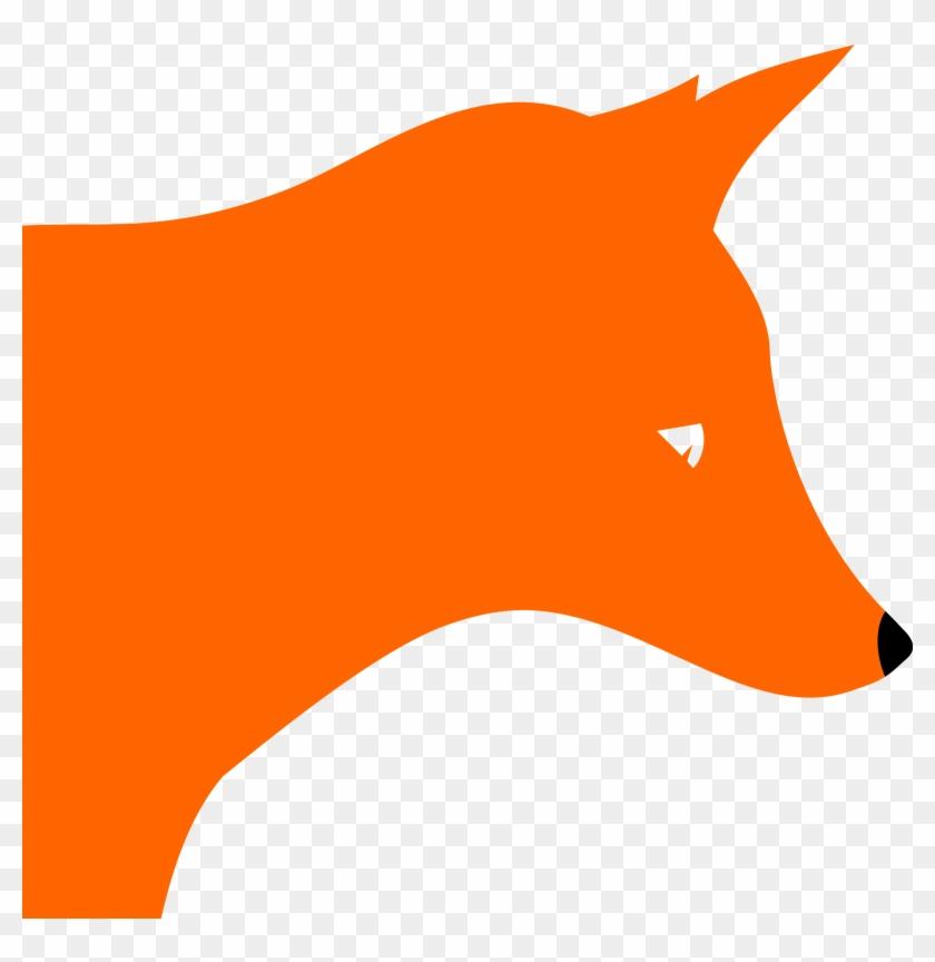 Clipart - Clipart Fox Head #15923