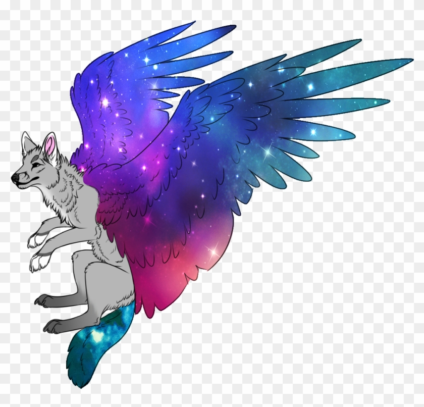 Wolf Clipart Tumblr Transparent Galaxy Drawing Free Transparent