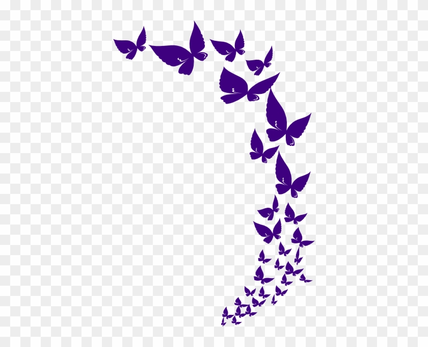 Butterfly Clipart Lavender - Mother's Day Card For Auntie #15971