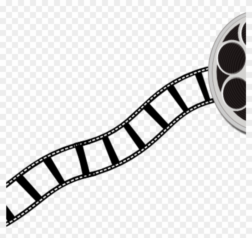 Movie Film Clipart Film Canister And Strip Clip Art - Filmstrips Clipart #16007