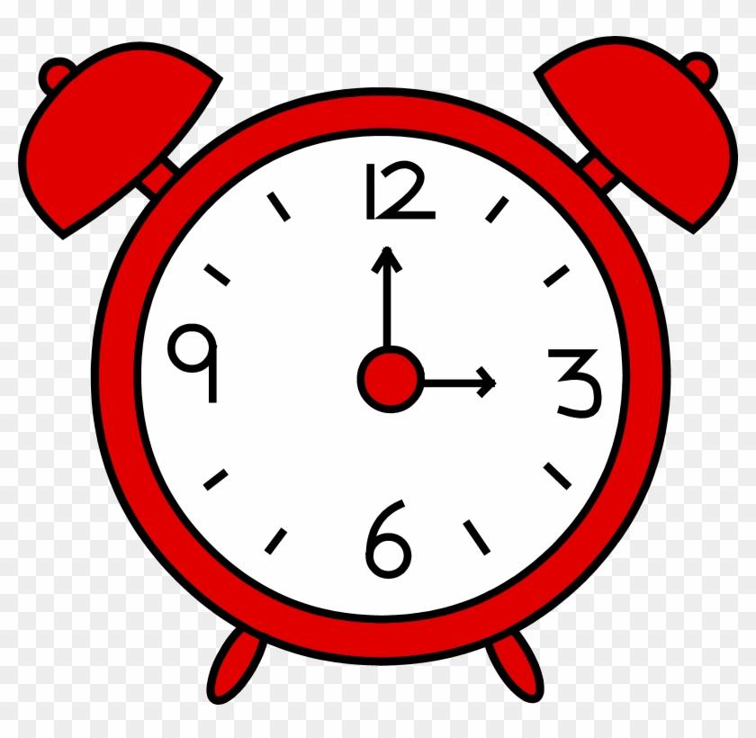 Clock Clipart For Kids - Alarm Clock Clipart #16063