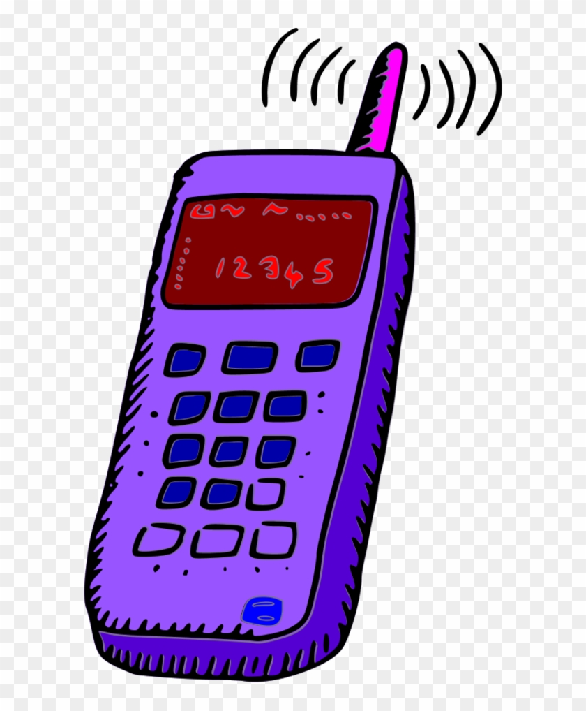 Mobile Phone Clipart Free Download Clip Art Free Clip - Old Cell Phone Clipart #16054