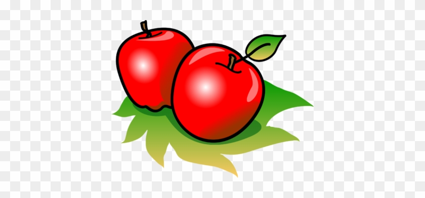 Nice Food Images Clip Art Junk Food Clipart Black And - Apples Clipart #16056