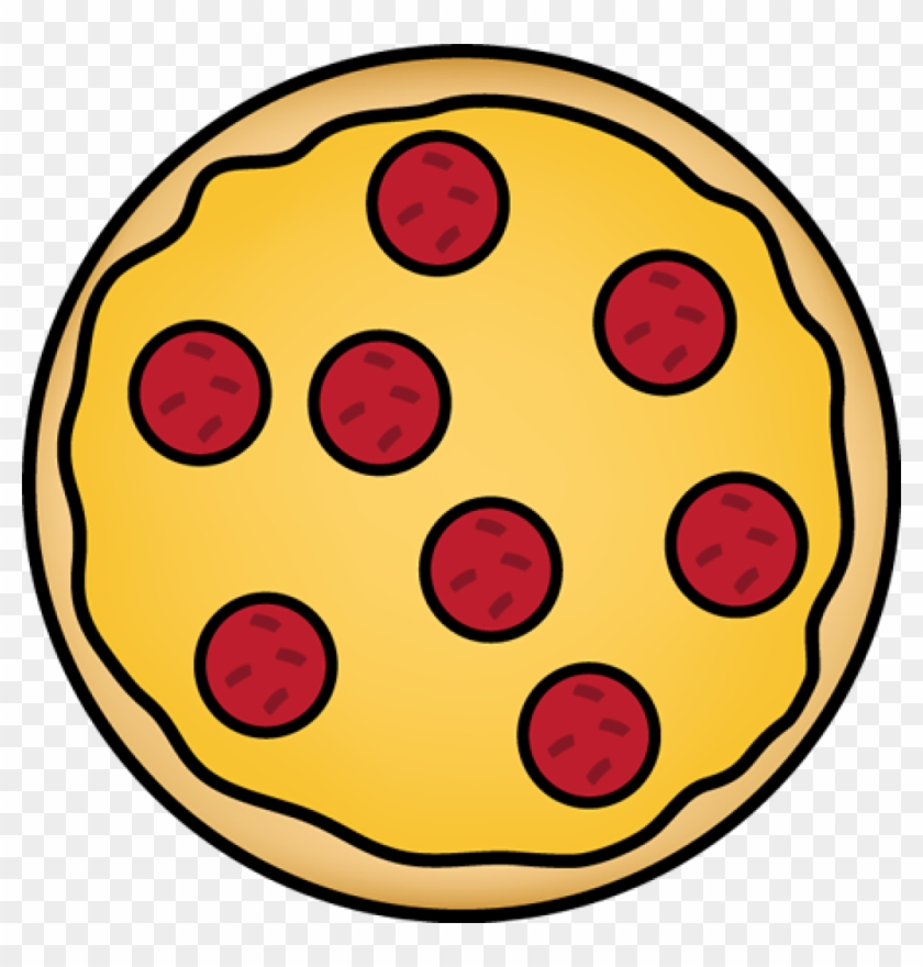 Pizza Clipart Pizza Clip Art Pizza Images For Teachers - Pepperoni Pizza Clipart #16091