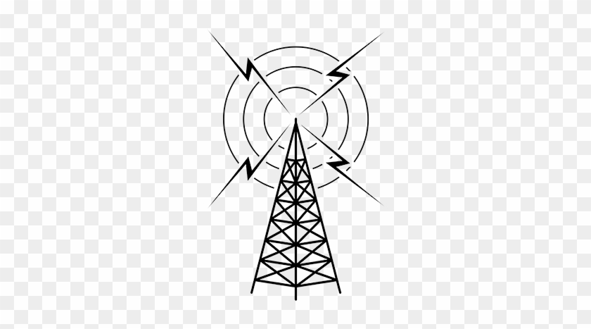 Radio Tower Clip Art - Radio Tower Clipart #16127