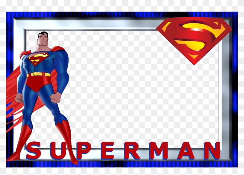 Clark Kent Batman Superman Logo Party Clip Art - Superman Background For Invitation #16195