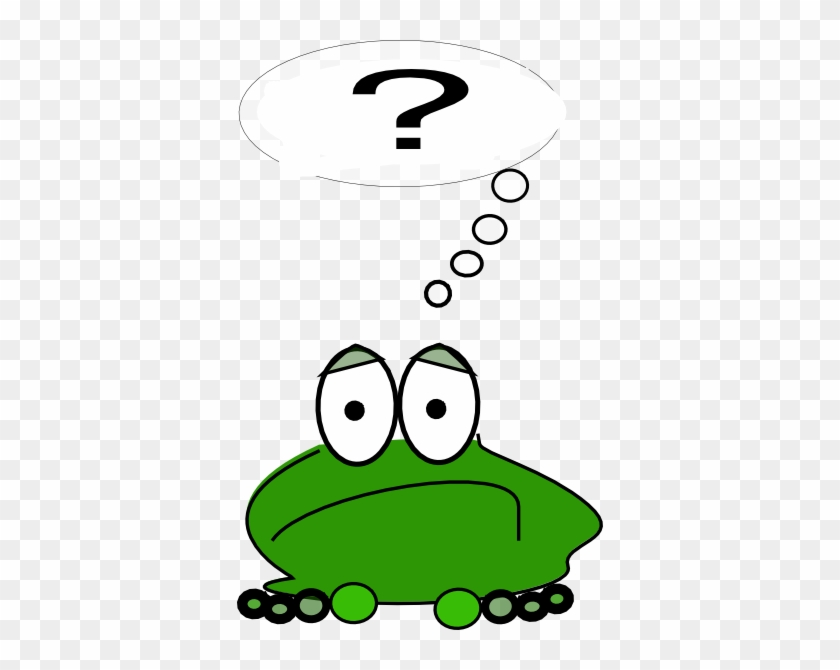 Frog With Question Mark #16282