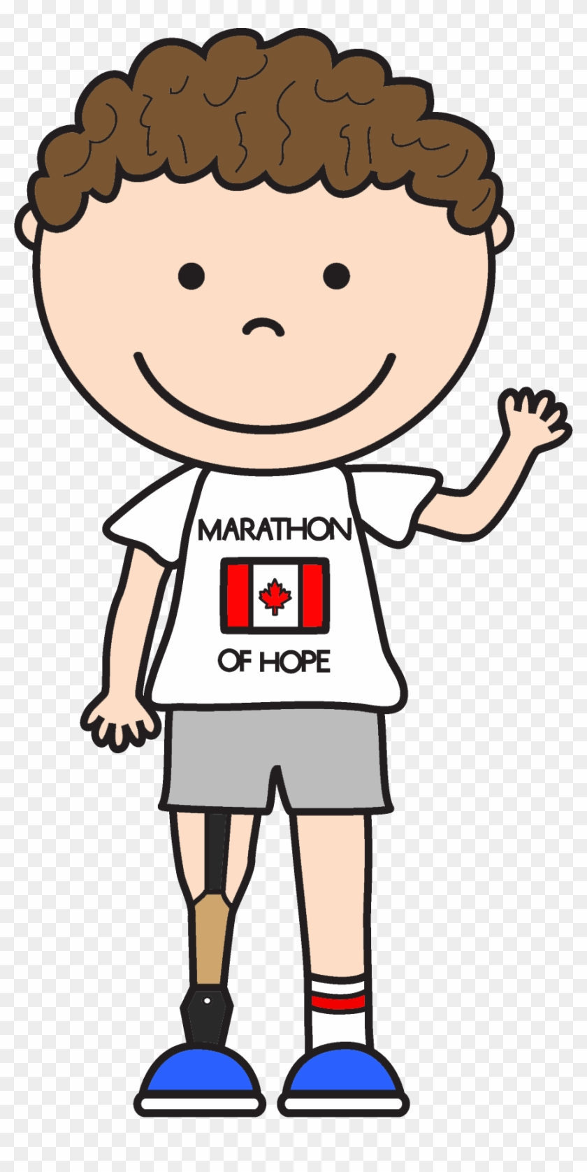 Terry Fox Clipart Terry Fox Video For Kids Free Transparent Png Clipart Images Download