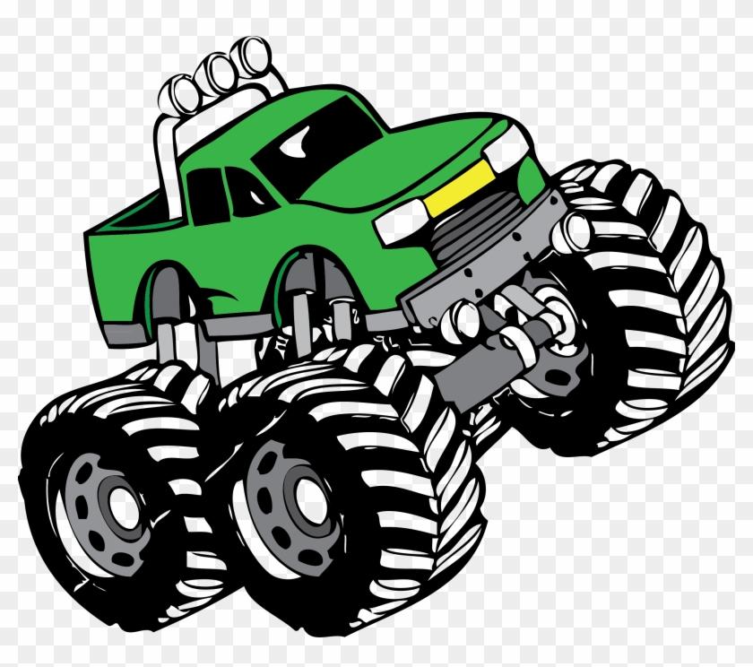 Monster Truck Clip Art - Monster Truck Clip Art Free #16410