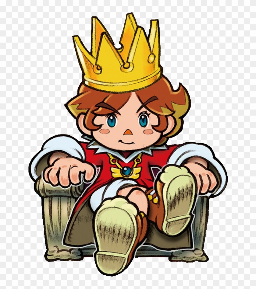Https - //img - Clipartfest - Clipart Info King - Little King's Story Wii #16417