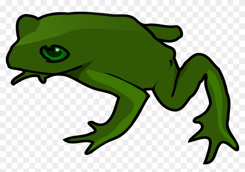 Clipart - Frog - Simple Frog #16422
