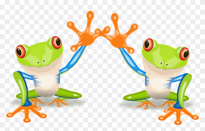 Goodbye Clipart Pictures Clip Art Library - Clipart Two Frogs #16456