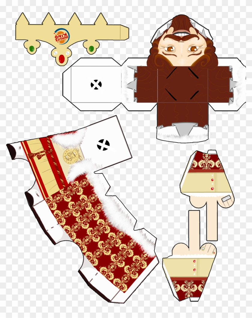king template paper toy template free transparent png clipart
