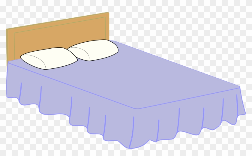 Queen Size Beds Clip Art Cliparts - Queen Size Bed Clipart #16476