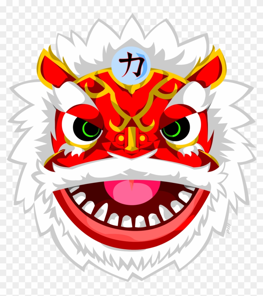 Thought Bubbles &amp - Chinese Lion Mask #16499