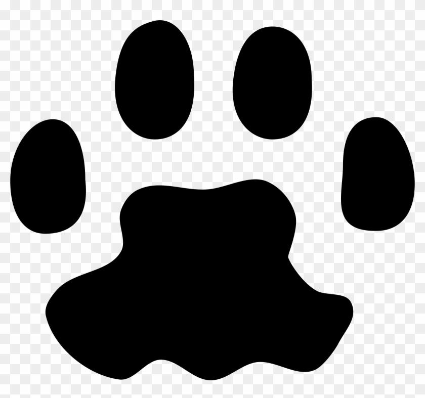 Cat Paw Clip Art Dire8b66t - Cat Paw Print Vector #16507
