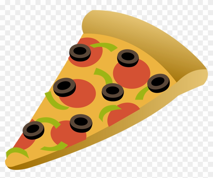 Animated - Slice Of Pizza Cartoon #16520